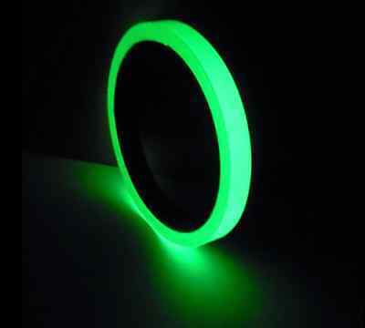 High Brightness Luminous Tape Self-adhesive Glow In The Dark Tape 2.5cm x 3m uk