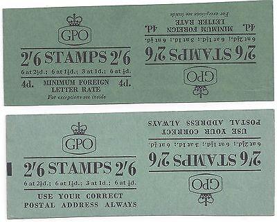 RüCksichtsvoll Uk Gb 1953 Uncut Prüfdruck Mit Zwei 0.6m6 D Booklet Abdeckungen Verschiedene Großbritannien Kolonien