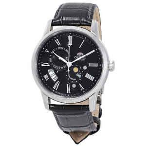 Orient-Sun-and-Moon-Version-3-Automatic-Black-Dial-Men-039-s-Watch-FAK00004B0