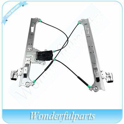 Power Window Regulator For 2002-2009 Chevy Trailblazer Front Left with Motor