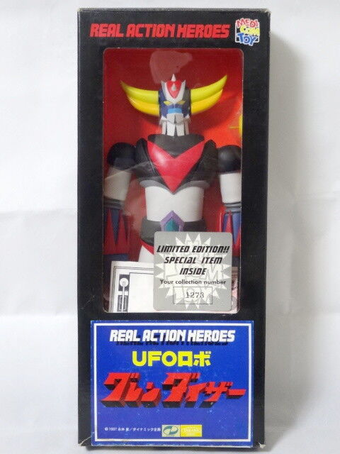 1975 UFO Robot Robot Robot Grendizer Figure Limited Edition Medicom Toy Robot Combat Joe e8c071