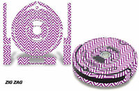 Skin Decal Wrap For Irobot Roomba 560 Vacuum Stickers Accessory Kit Zig Zag