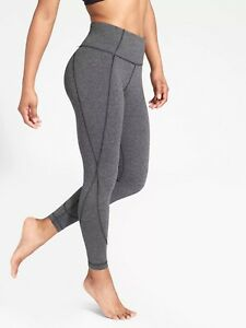 Black E1226 Nwt Tight Athleta M 2 7 Taglia Salutation 8 Heather 591375 PgaxXR