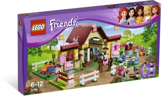 LEGO 3189 FRIENDS Heartlake Stables - Brand New Sealed (Retired)