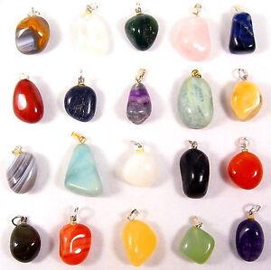 Diferentes-edelstein-remolque-tambor-piedras-colgante-de-piedras-preciosas