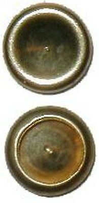Brass Plated D3701 LOT OF 50 EACH CAPS for Split Rivets