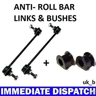 4 SEAT IBIZA /& CORDOBA Front ARB Anti Roll Bar Sway bar 2 x Bushes /& 2 x Links