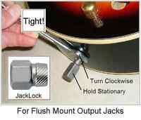 GeetarGizmos JACKLOCK 1 Guitar Output Jack Tightener Wrench Les Paul 335 SG...