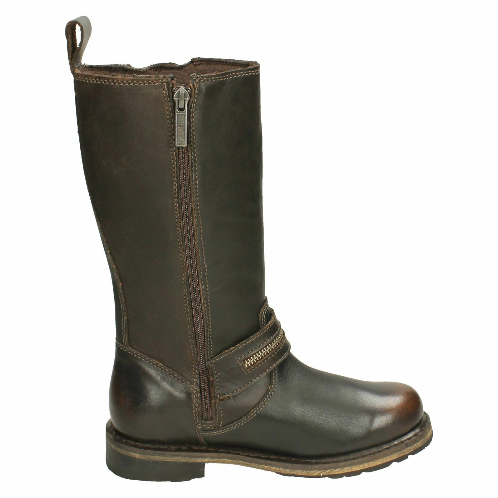 SACKETT ZIP HARLEY DAVIDSON LADIES LEATHER MID CALF LENGTH ZIP SACKETT UP BIKER Stiefel SIZES 2f338e