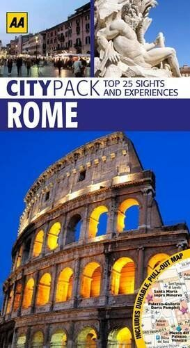 CityPack Rome (AA CityPack Guides) By AA Publishing