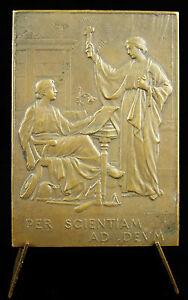 Medaille-Docteur-Achille-Sogno-dit-Frere-Rodolfo-per-scientiam-ad-deum-medal