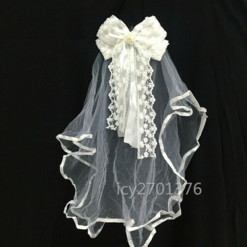 Lace Toddler Baby Flower Girls Party Wedding Baptism Christening Gown Dress hat