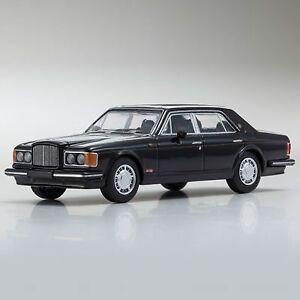 Kyosho-Original-KS07043A2-Bentley-Turbo-R-Black-Metallic-1-64scale-JP
