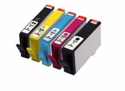 5-PK//Pack 564XL Ink Cartridge for HP Photosmart 5510 5514 5515 5520 7520 7525