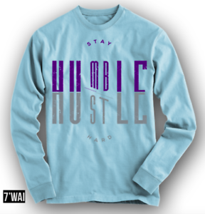 25210f9ec8afb0 HUMBLE 12 SHIRT IN JORDANS GS PURPLE DUST AIR blueE COLORWAY XII RETRO LS