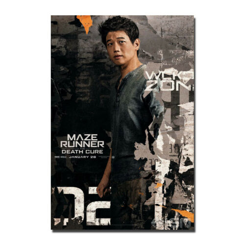 The Maze Runner The Death Cure New Movie Silk Fabric Poster Wall Art Print 24x36