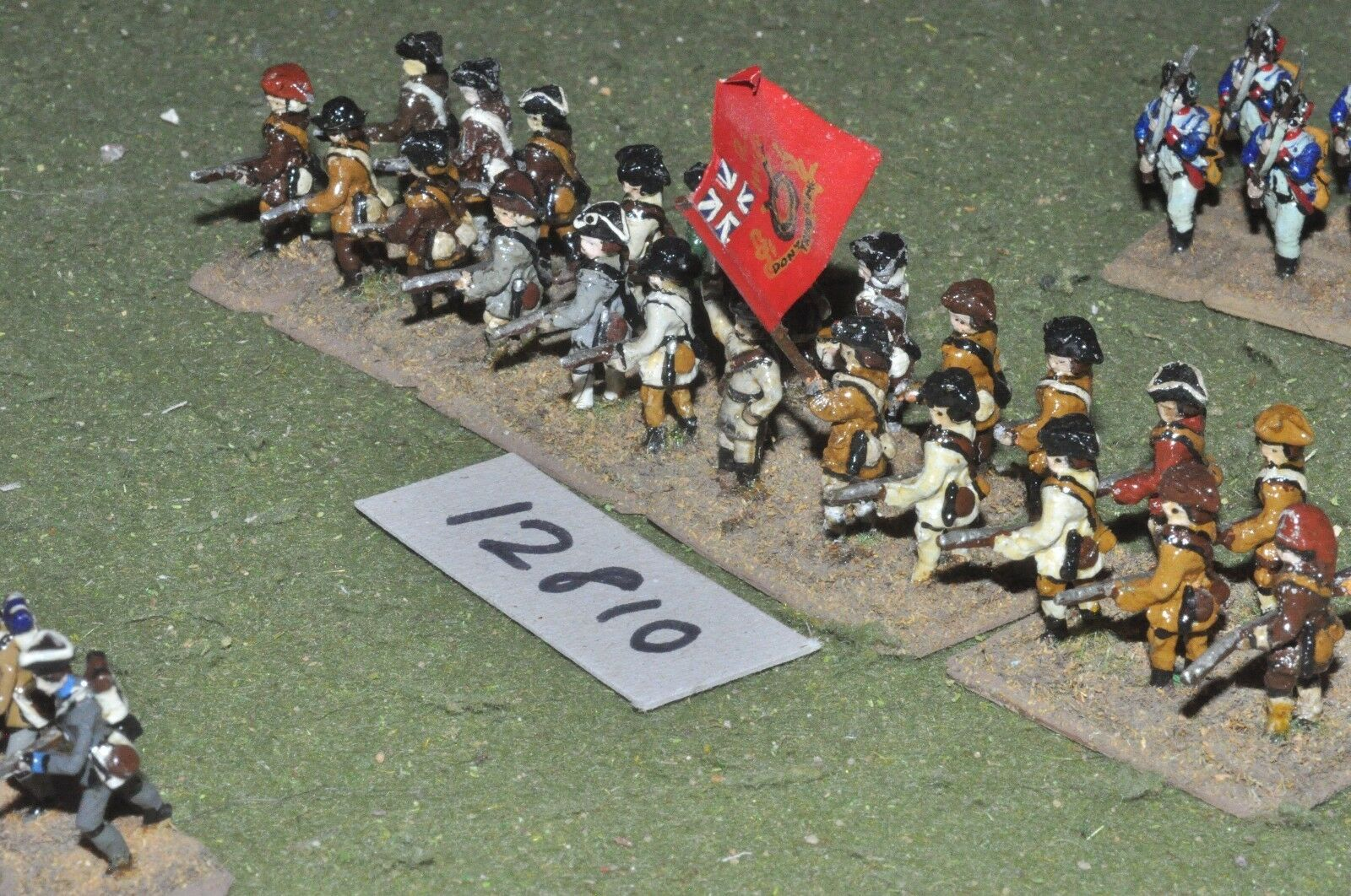 25mm AWI   american - infantry 24 figs - inf (12810)