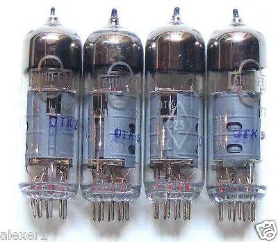 4x  6i1P-EV ECH81 / 6AJ8  Russian Reflector Triode- Heptode Tubes  New