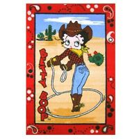 Betty Boop Western Area Rug - Three Sizes Available