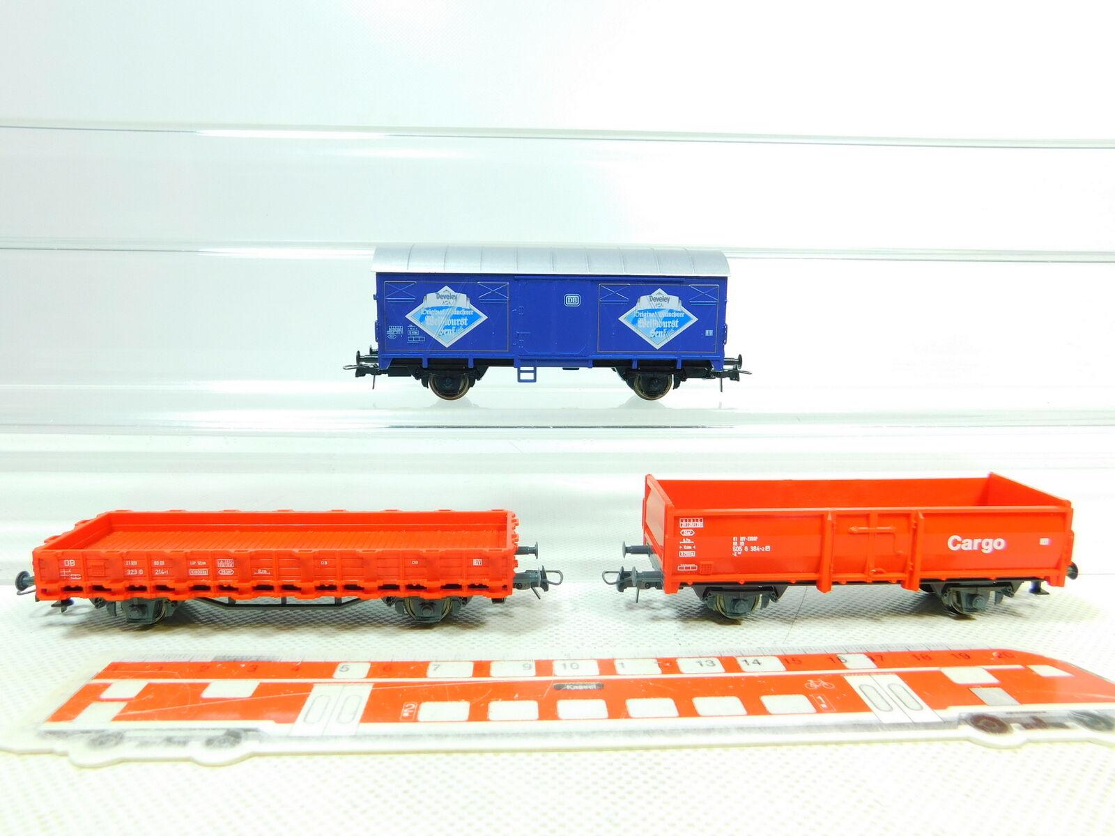 BT497-0,5  3x Roco H0 DC Güterwagen DB NEM NEM NEM  Senf  Cargo etc, gute 2. Wahl  | Billig  e21d7c