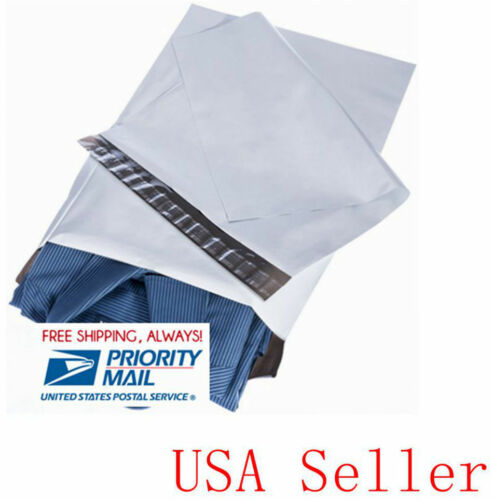 """Priority ship 2.35MIL 100 pcs 14.5x19 /"""" Poly Mailers shipping Envelopes bags"""