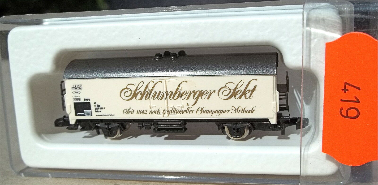 Schlumberger spumante, partire 89002   8600 Traccia Z 1/220 * 419 *