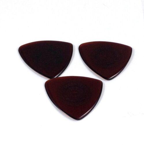Dunlop Gitarren Plektrum 3 Packung Primetone Tri Dreieck Text Hand Geformt 1.4mm