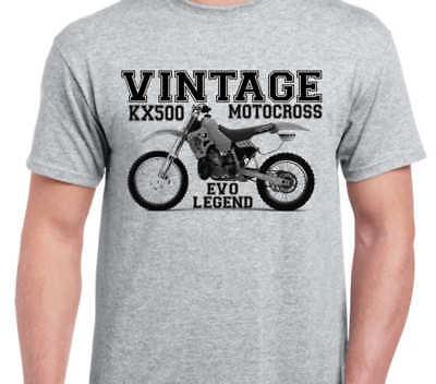 KX125 KX250 KX420 KX500 KX400 twinshock vintage motocross evo pre65 SHIRT
