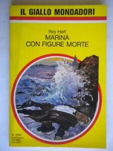 Marina con figure morteHart RoyMondadori1988 giallo2044Roper mark Blake 817