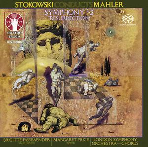 LEOPOLD STOKOWSKI CONDUCTS MAHLER • Symphony No. 2 SACD Hybrid Multi-Channel