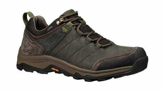 Teva Men's Arrowood Riva WP Hiking scarpe nero Olive Leather Waterproof