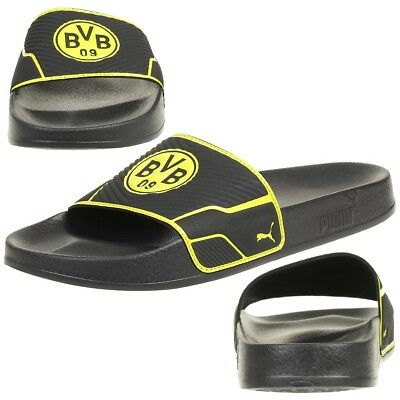 NEU BVB-Badeschlappen Schwarz Borussia Dortmund