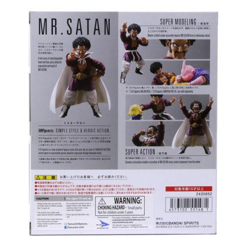 Bandai S.h.figuarts Dragon Ball Z Figure M. Satan