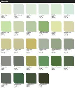 Image Is Loading Leyland Trade Interior Paint Green Range Woodland Willow
