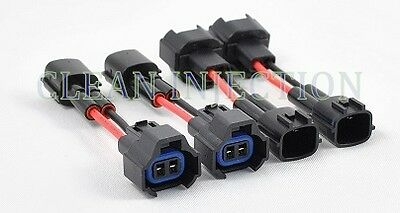 fit Nissan 300zx 240sx 200zx silvia rb25det sr20 s13 r32 fuel injector connector