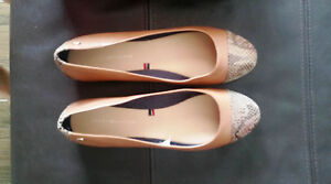 Hifiger Taille Pompes Ballerines Tommy Uk5 Brown Chaussures w8vNn0Om