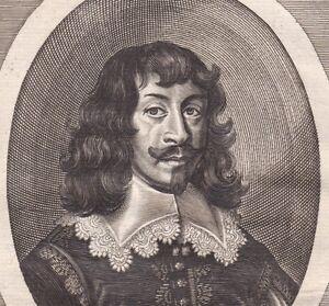 Portrait-XVIIIe-Johann-Maximilian-Graf-Von-Lamberg-Ioannes-Maximilianus-XVIIIe
