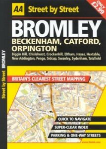 Acceptable-AA-Street-by-Street-Bromley-AA-Publishing-Automobile-Association