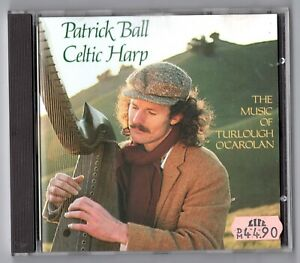 Patrick-PALLA-CD-Celtic-Harp-1982-First-Press-WEST-GERMANY-CD-for-005-fortuna-Rec
