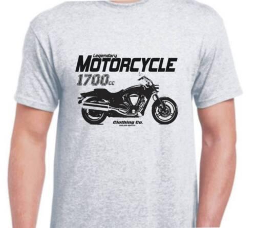 Yamaha XV1700 Warrior inspired motorbike art shirt tshirt