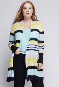 Lane-Bryant-Cardigan-Sweater-Jacket-Top-Plus-14-16-18-20-22-24-26-28-1X-2X-3X-4X