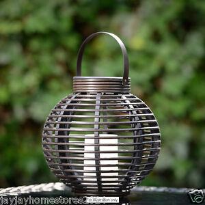 Décoration De Jardin Verona Aspect Rotin Lampe De Table Avec Solaire Bougie-afficher Le Titre D'origine Couleur Rapide