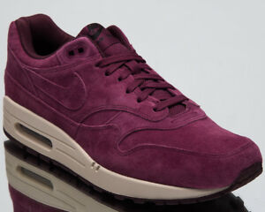 25d5d91b526 Nike Air Max 1 Premium Bordeaux Men s Lifestyle Shoes 2018 Sneakers ...