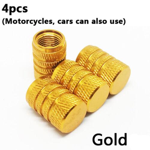 Aluminum Alloy Dust Cover Tyre Valve Cap Wheel Rim Tire Bicycle Accessories