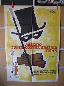 A5249-ARSENIO-LUPIN-CONTRA-ARSENIO-LUPIN-Georges-Neveux-Francois-Chavane-1963