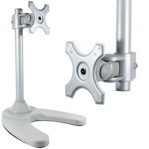 Lcd Tv Monitor Desk Stand Bracket 15 22 Quot Adjustable Screen