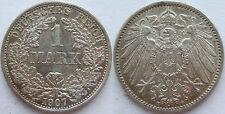 TOP! 1 Mark 1907 F in VORZÜGLICH !!!