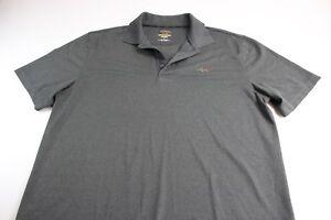 Greg-Norman-Tasso-Elba-PlayDry-Grayish-Golf-Polo-Shirt-Large-L
