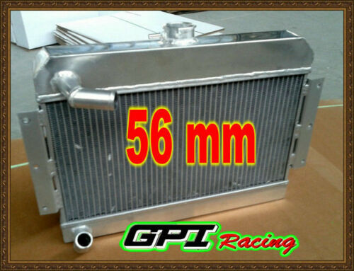 5 ROW MGB GT//ROADSTER TOP-FILL 1968-1975 1969 ALUMINUM ALLOY RADIATOR /& FAN