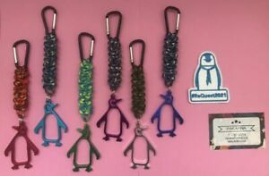 Handmade Paracord Penguin Bottle openers for ReQuest 2021(Camoflauge)